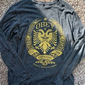 Long sleeve OBEY top